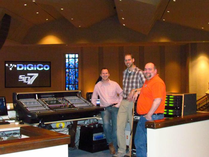 Crossings Community Church Rejuvenates A/V System With A