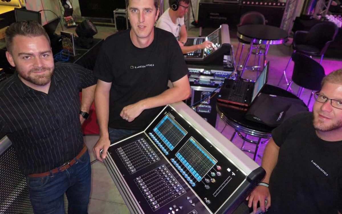Running With DiGiCo