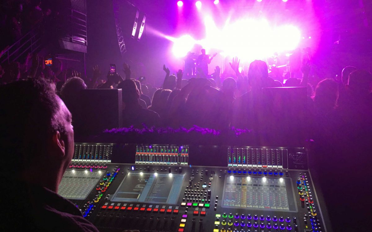 DiGiCo Desks Bring It All Back Home For The Revolution's Prince Memorial Shows At First Avenue