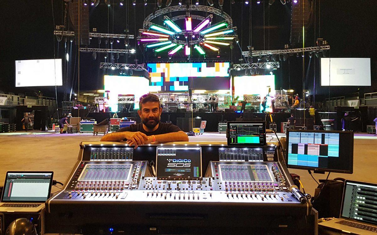DiGiCo SD5 The Ideal Choice For Diljit Dosanjh UK Tour