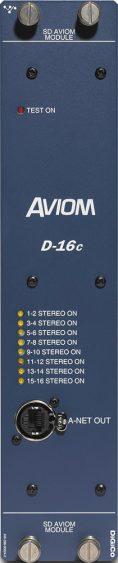Aviom D-16c A-Net Card