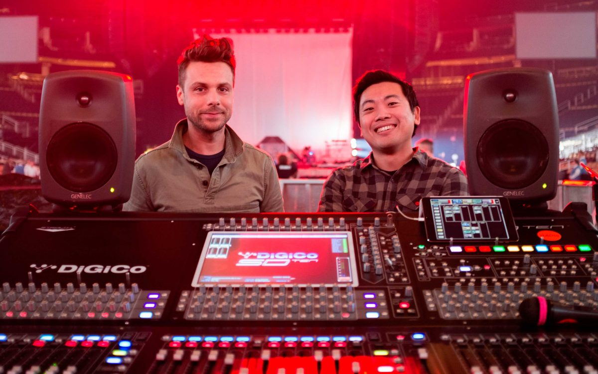 DiGiCo SD10 Desks Keep It Light And Tight On Tour With Halsey