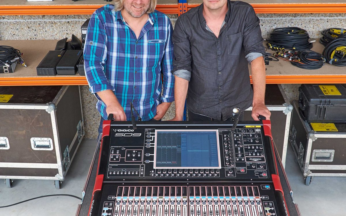 4Ears & Mono Get Closer To The Audience With DiGiCo