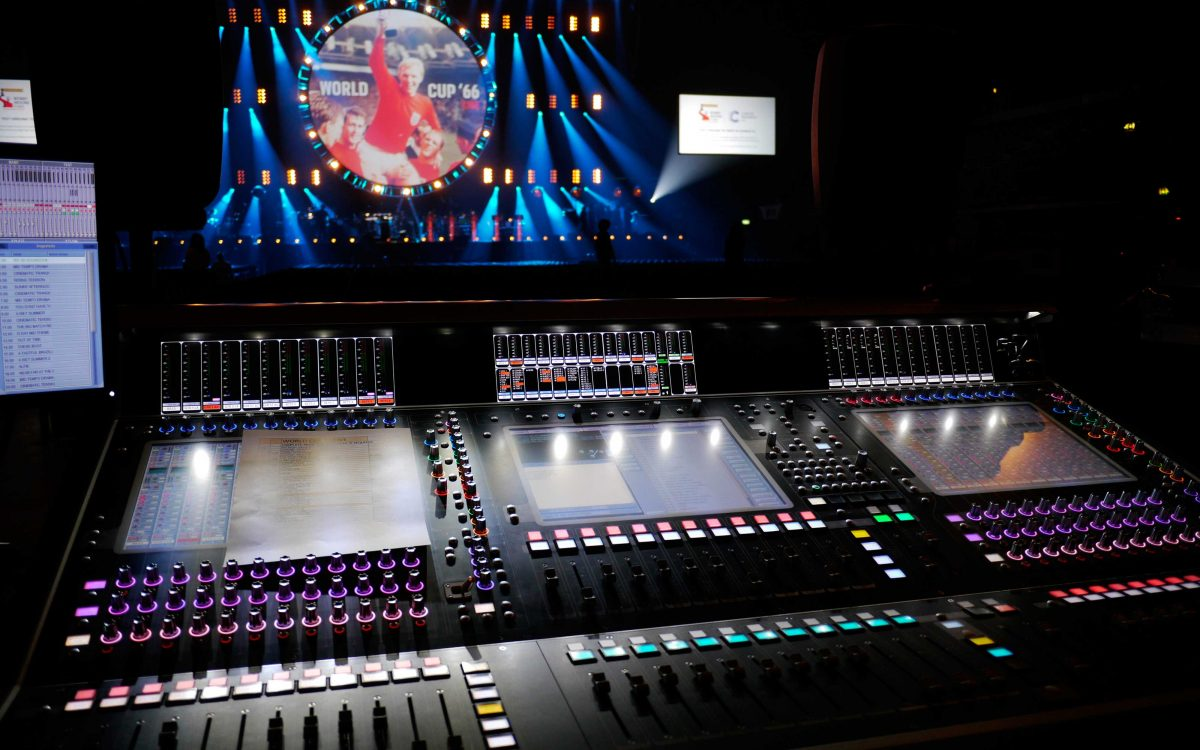 DiGiCo Gets It In The Back Of The Net For World Cup 66 : Live