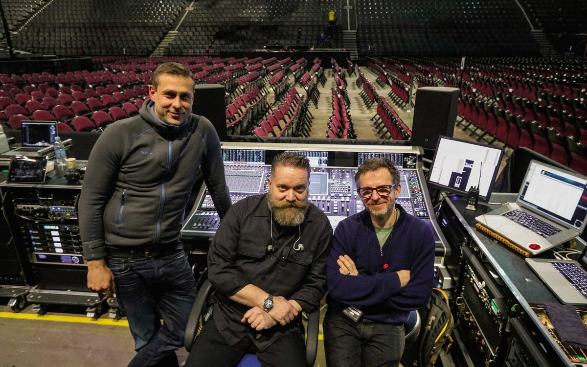 DiGiCo SD7s Aid Audio Perfection On Adele 25 Tour