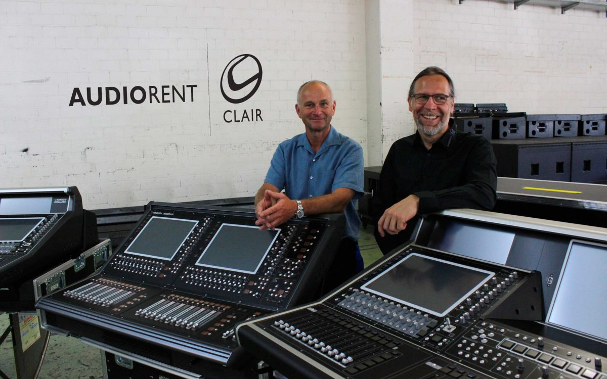 AudioRent Clair Takes New DiGiCo s To Montreux Jazz Festival