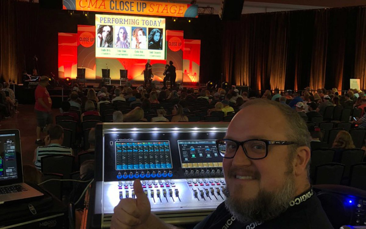 "DiGiCo Mixes The Music Of ""Music City"" For CMA Fest"
