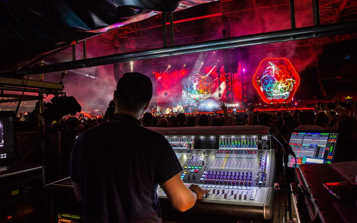 DiGiCo SD7 – The Only Console For Coldplay
