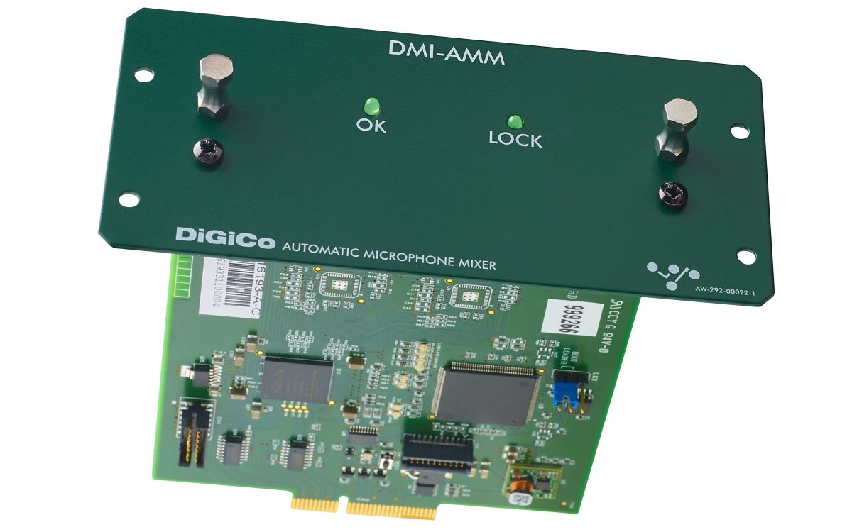 DiGiCo Reveals DMI-AMM For S-Series Consoles