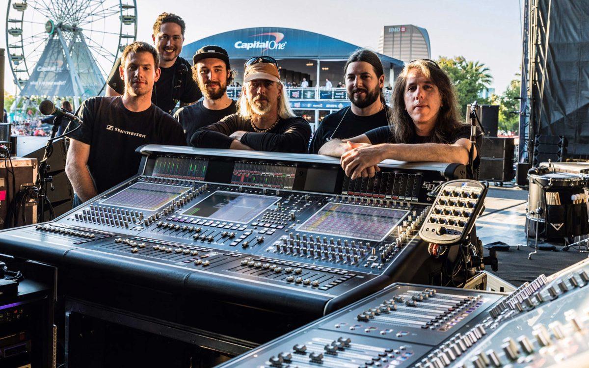Aerosmith Says 'Hello' To DiGiCo SD12 For 'Aero-Vederci Baby'