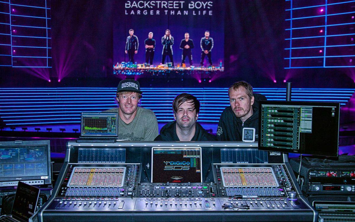Backstreet Boys Are Back, Backed By DiGiCo