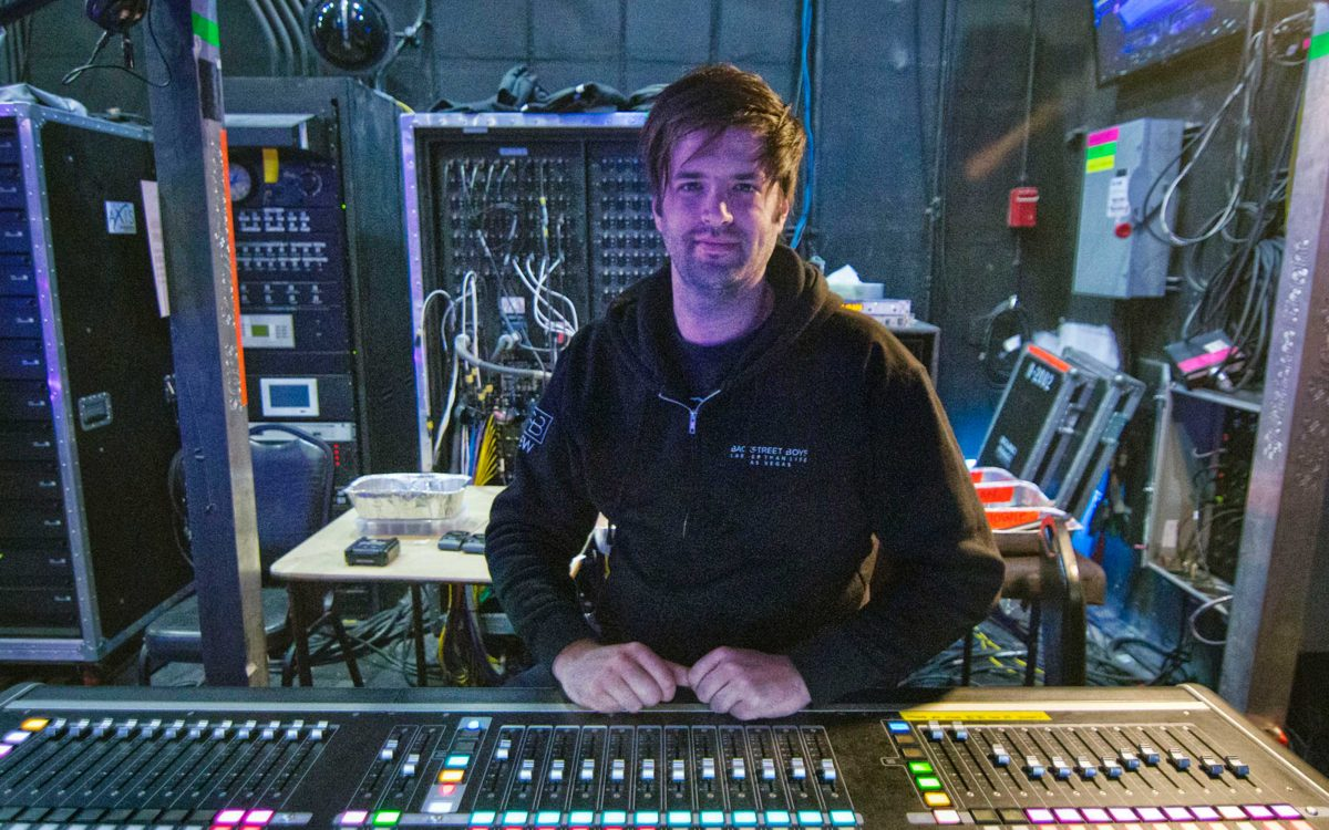 Backstreet Boys Are Back, Backed By DiGiCo