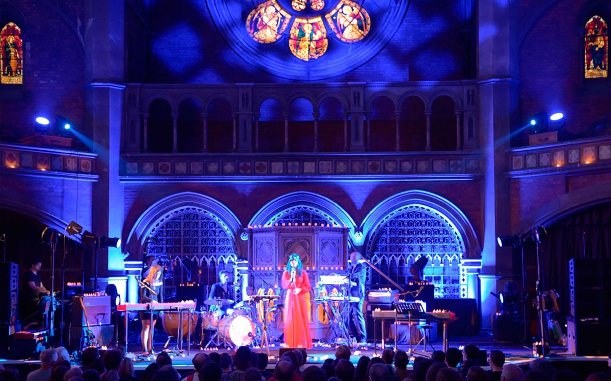 Bat For Lashes Takes DiGiCo S21 On Tour