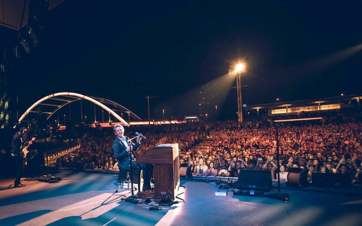 Ben Rector Tours With 'Brand New' Stealth Core 2 DiGiCo SD9s