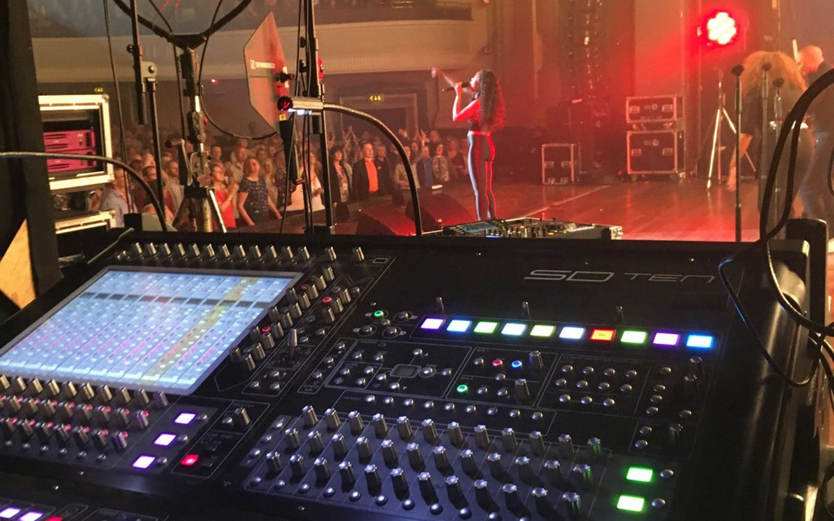 DiGiCo Provides Compact Solution For Beverley Knight's Soulsville Tour