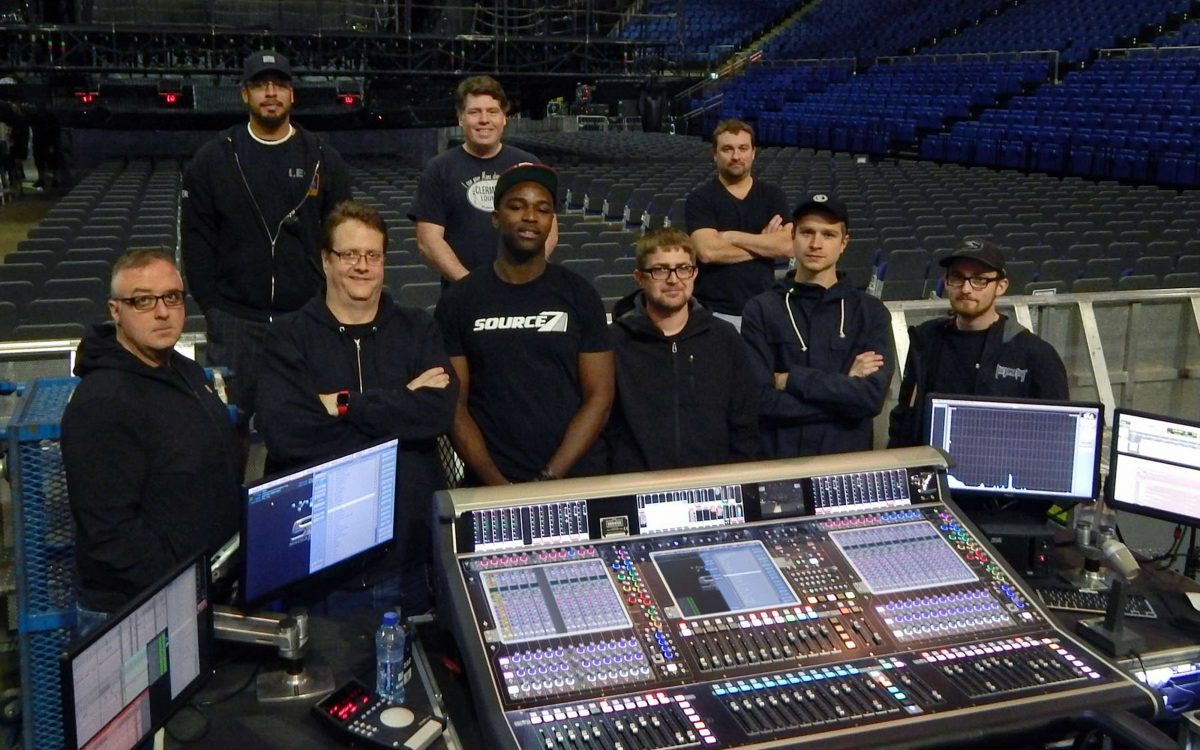 "Two DiGiCo SD7s ""Purposefully"" Chosen For Justin Bieber"