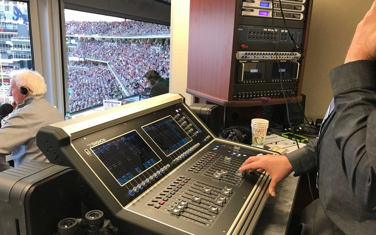 DiGiCo s S21 Hits A Home Run For DBC At Atlanta Braves ' New SunTrust Park