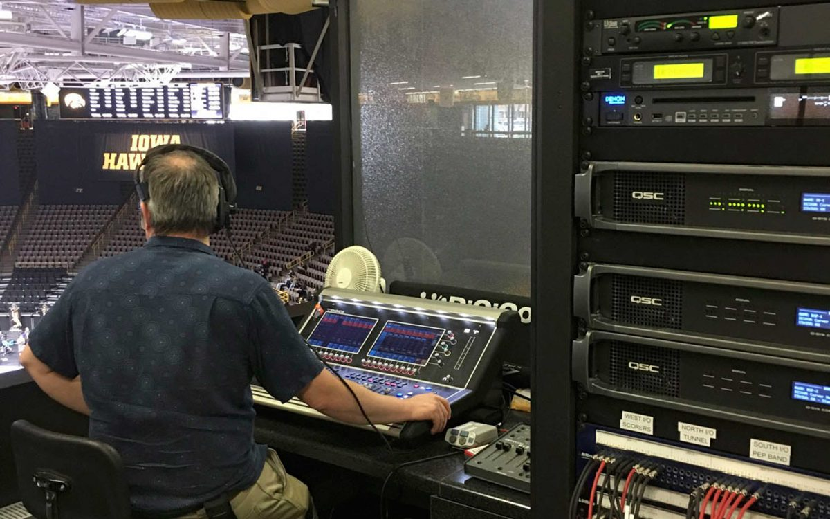 A DiGiCo S21 Gets The University Of Iowa's Carver – Hawkeye Arena Ready For The Long Game