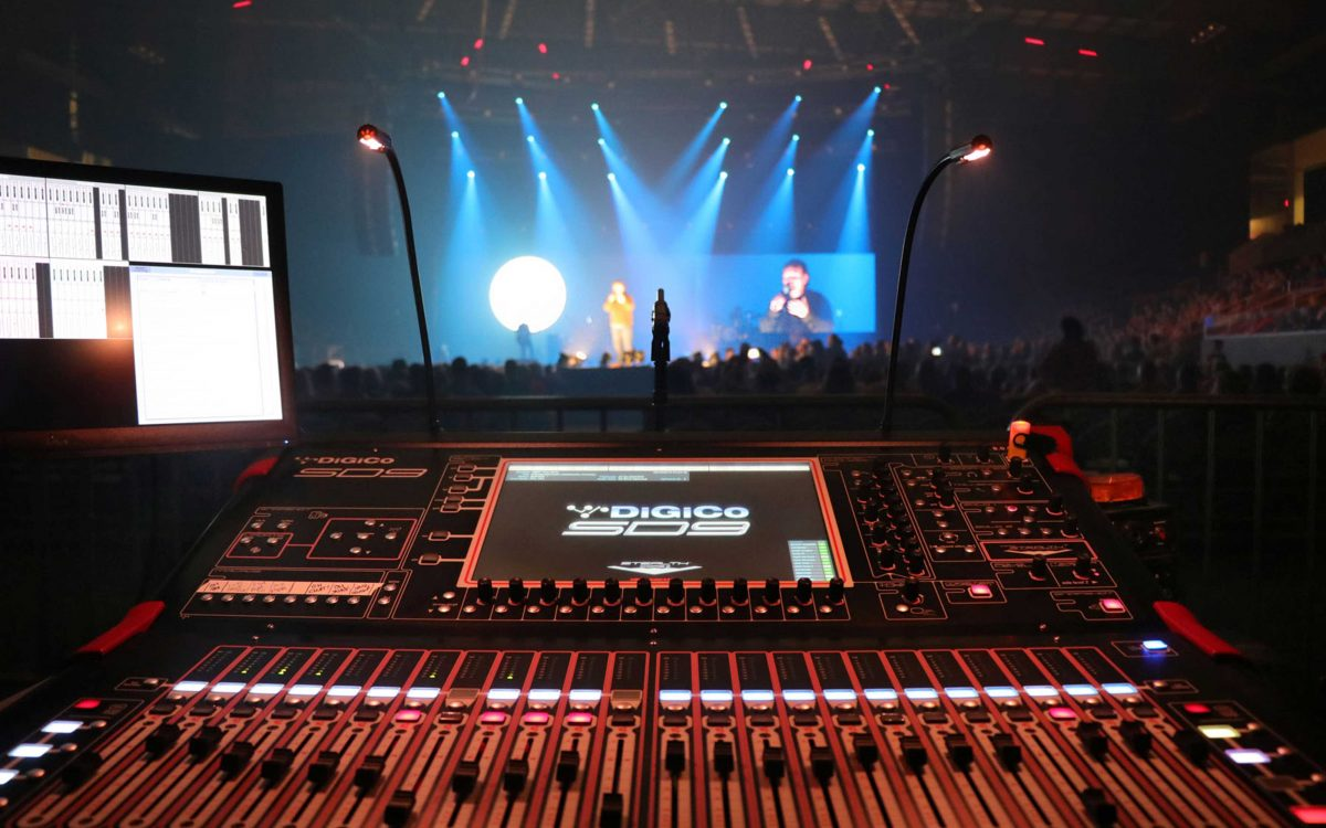 "DiGiCo SD9s Are ""The Very Next Thing"" For Casting Crowns On Tour"