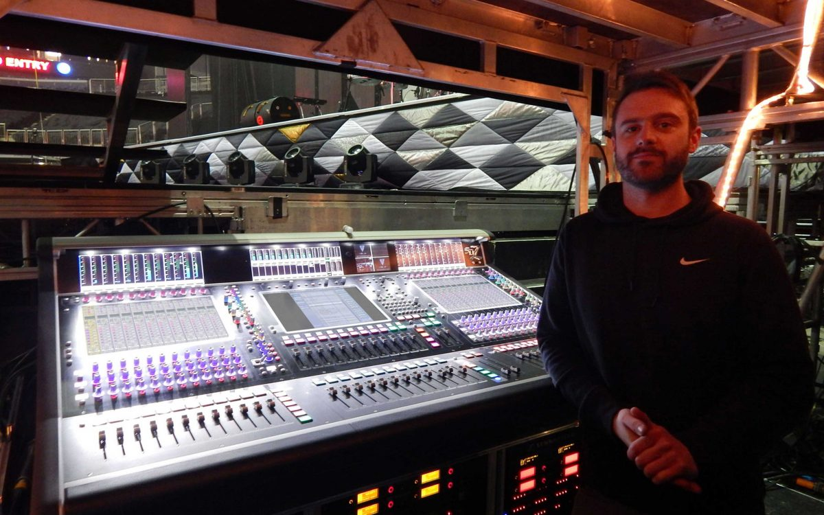 DiGiCo Goes Out With Ellie Goulding