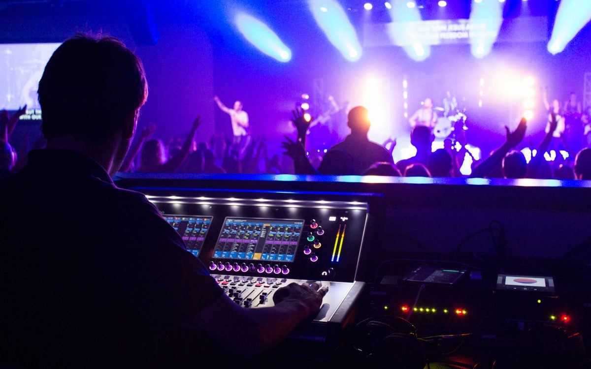 DiGiCo's S21 Finds A Faithful Following In The House Of Worship Market