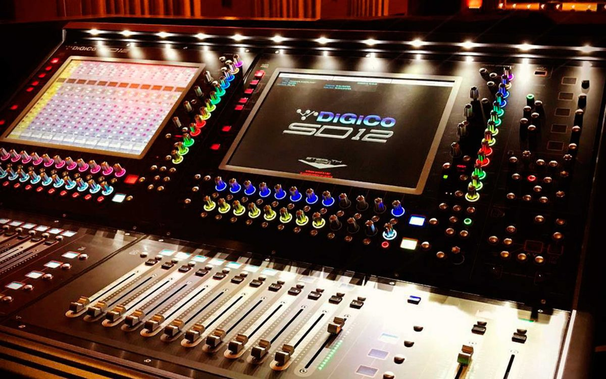 DiGiCo Brings 21st Century Sound To Classic Franklin Theatre