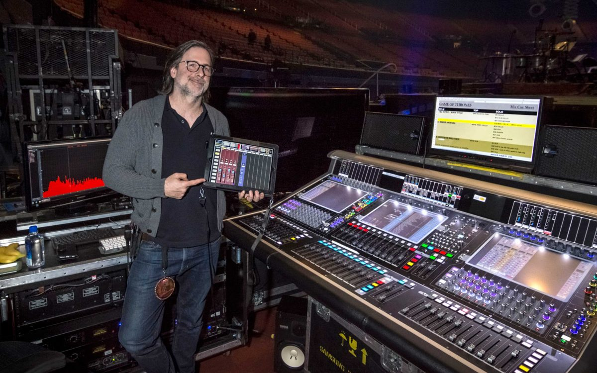 Winter Is Coming, And It's Carrying DiGiCo