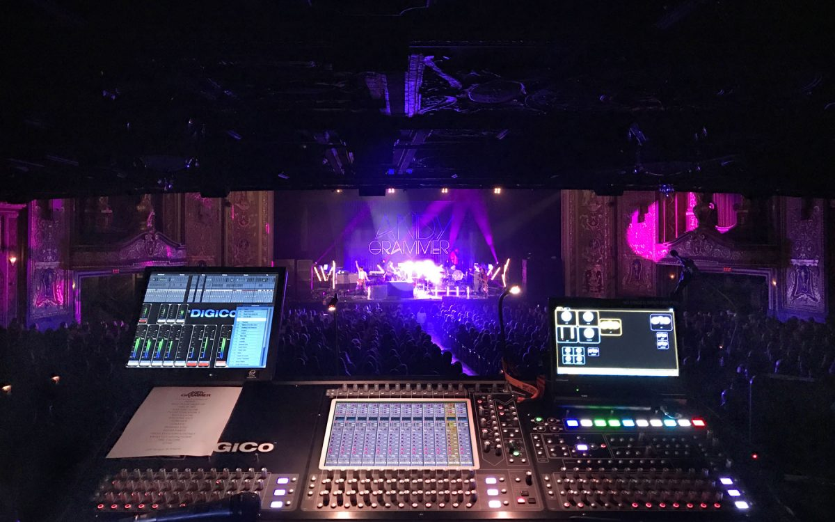 Andy Grammer Travels Light With DiGiCo