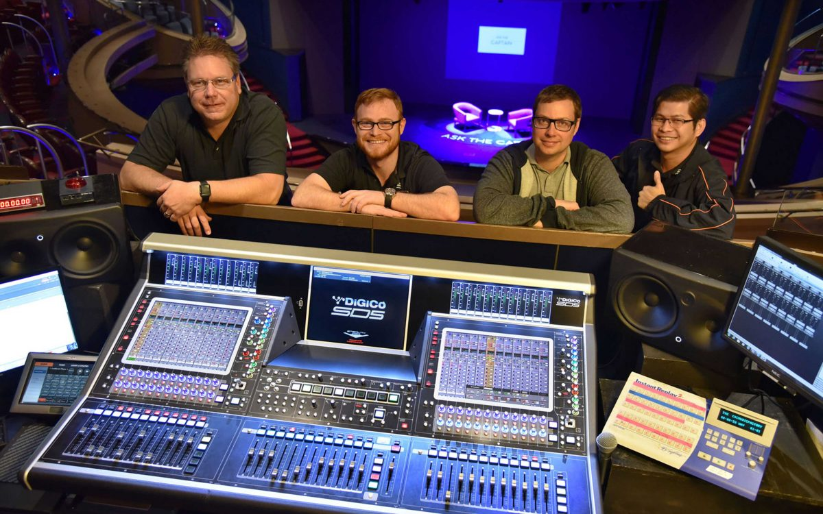 It's Smooth Sailing With DiGiCo's SD-Series Consoles Onboard The World's Leading Cruise Ships