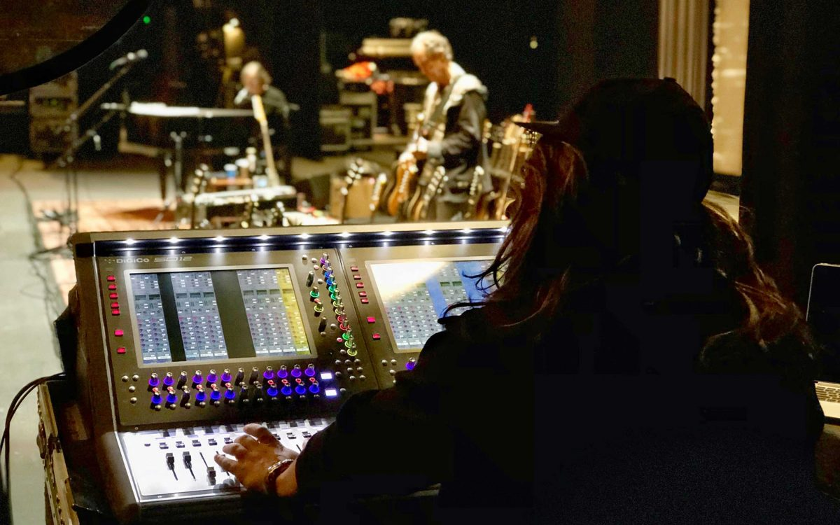 Jackson Browne, These Days, Tours With DiGiCo
