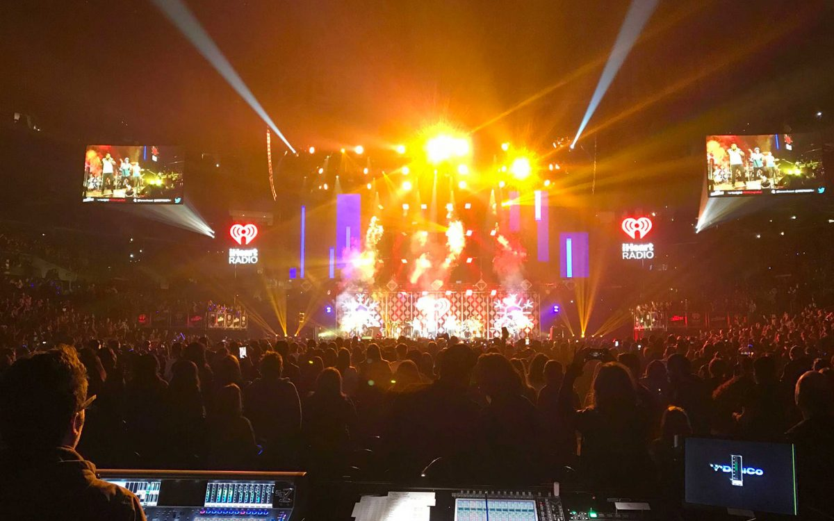 DiGiCo Consoles Keep Jingle Ball Tour Ringing Nicely