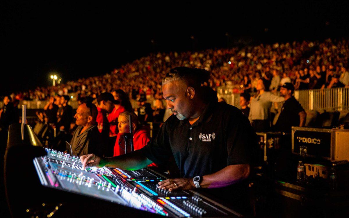 DiGiCo SD7 Consoles Help Keep Logic Cool On The Bobby Tarantino vs. Everybody Tour