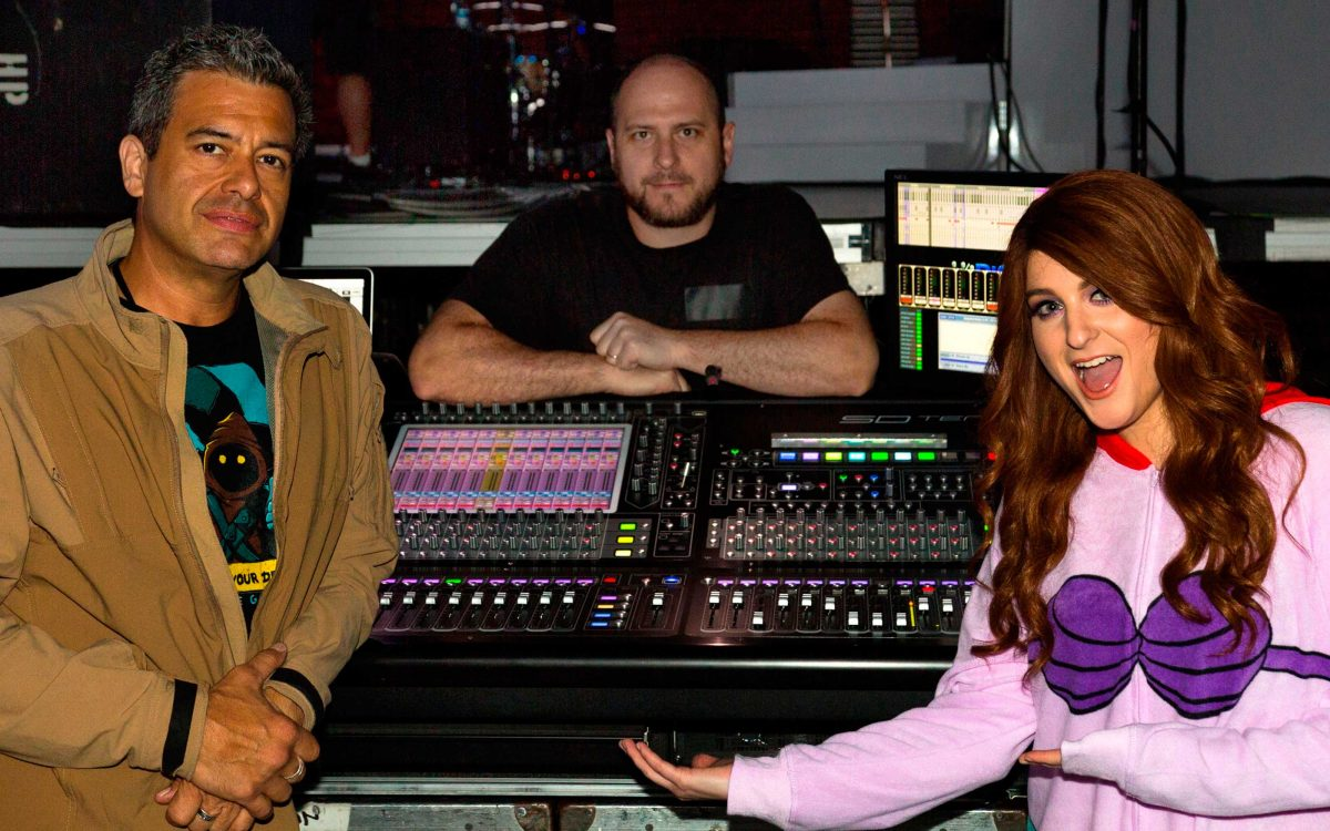 Clair Global Carries DiGiCo SD10s On Meghan Trainor's North American Tour