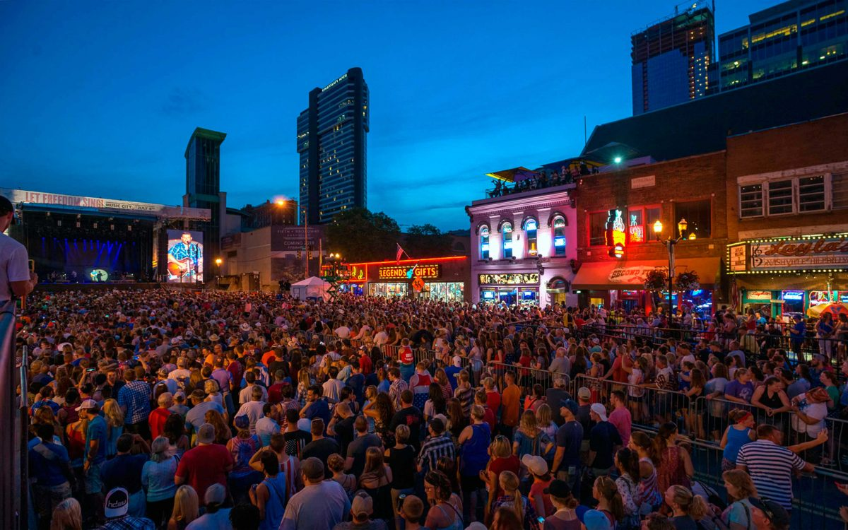 DiGiCo / Optocore Combination Flawlessly Manages Audio For Nashville's 'Let Freedom Sing! Music City July 4th' Celebration