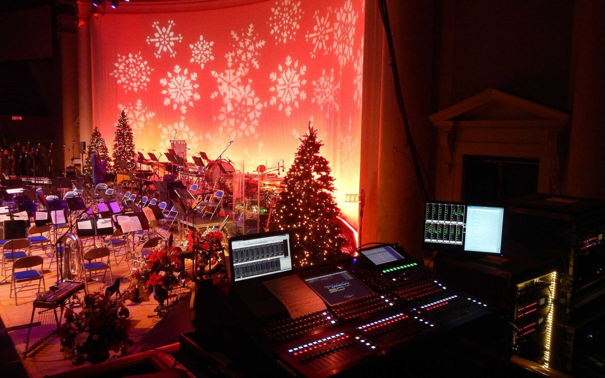 DiGiCo Dives Into The Holidays With America's Navy