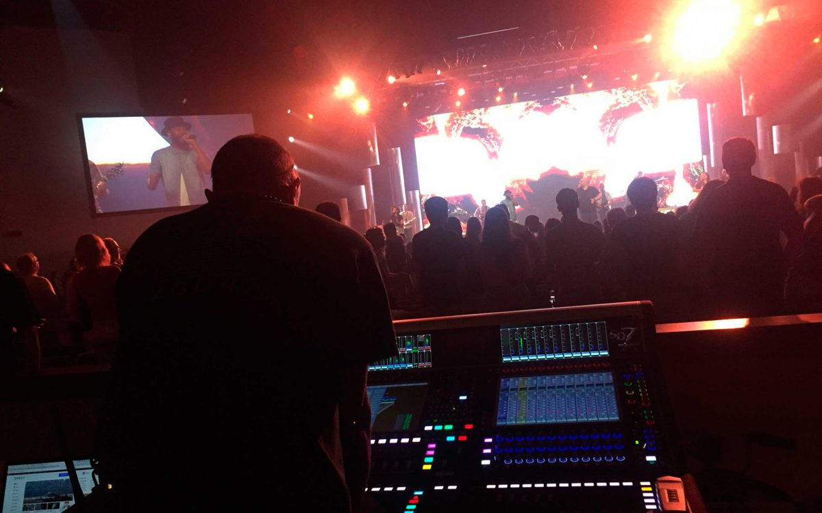 NorthRidge Church Enters Its Second Generation Of DiGiCo Desks With Two New SD7 Consoles