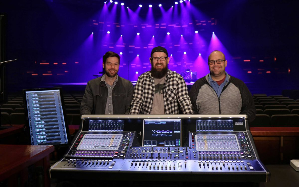 North Point Ministries Installs Eight New DiGiCo SD5cs Consoles In Three Locations