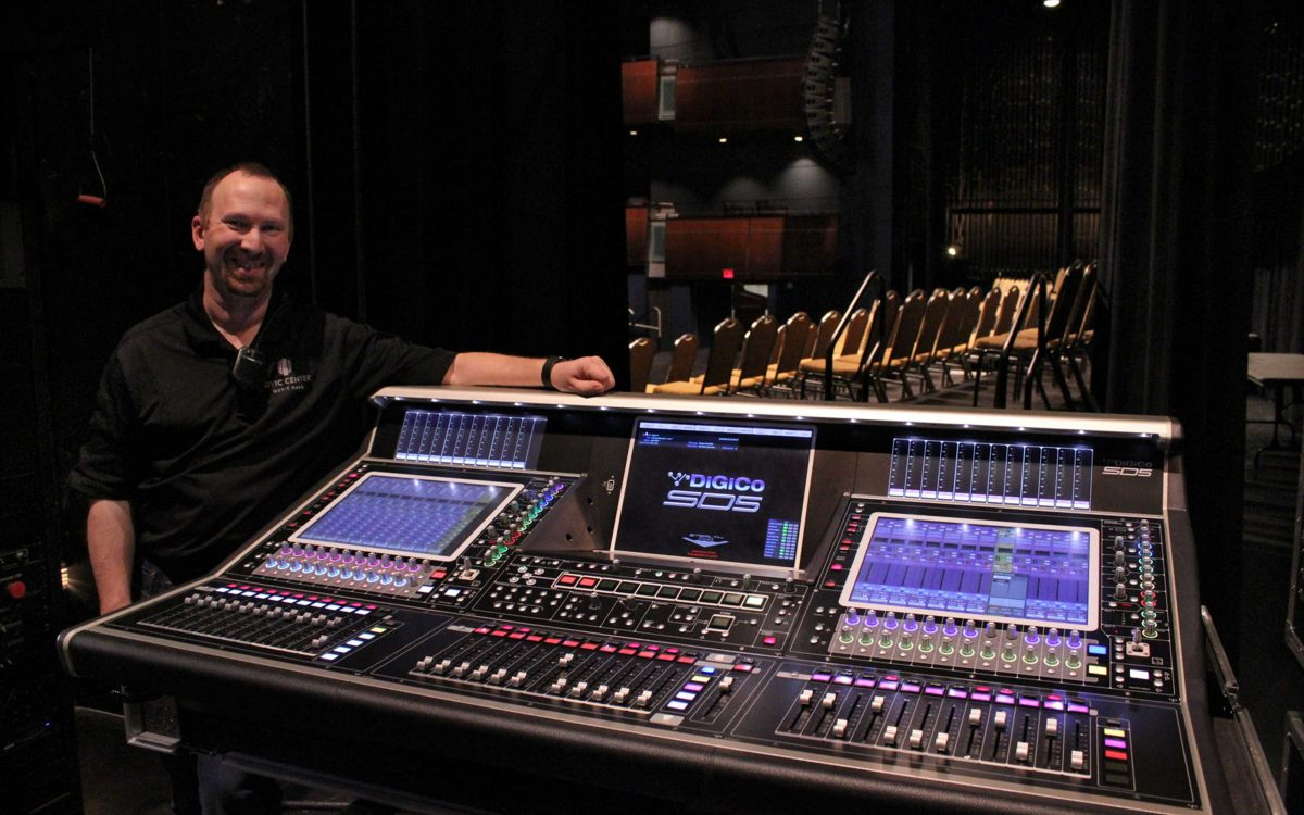Oklahoma City's Civic Center Music Hall Goes With All DiGiCo Consoles As Part Of A Complete Rider-Ready Renovation