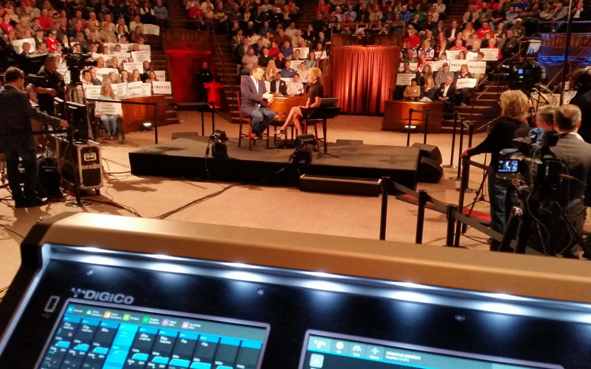 DiGiCo's S21 Gives Bipartisan Support To US Presidential Candidates