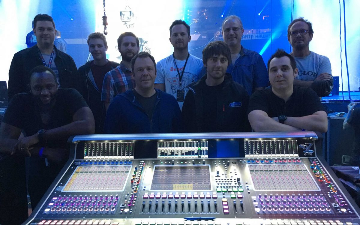 DiGiCo Desks At The Heart Of Passion 2016