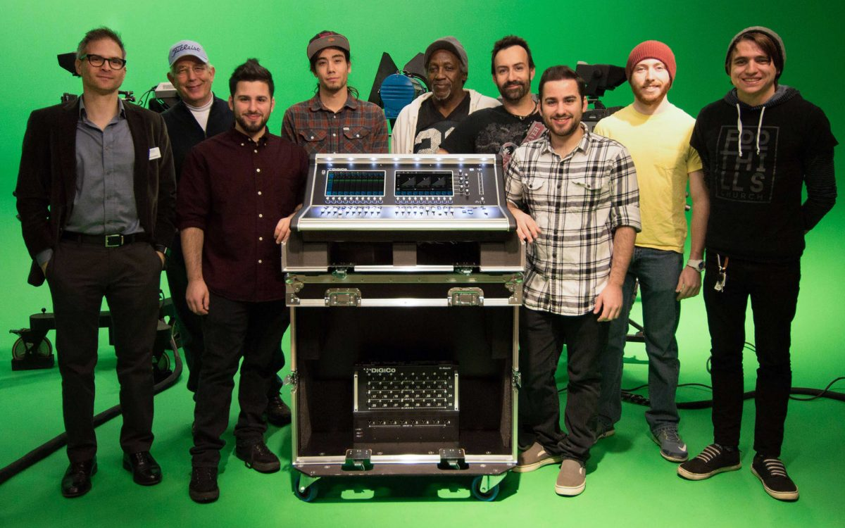 Students at Pellissippi State Community College Graduate to the DiGiCo S21