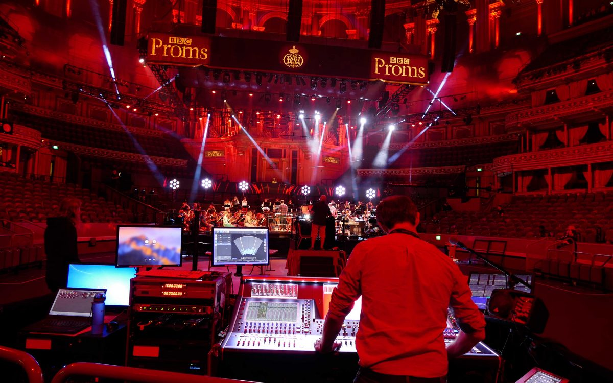 DiGiCo Native L-ISA Control Makes Proms A Walk In The Park For Delta
