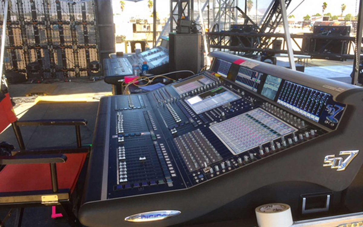 DiGiCo Helps Build Bridges For RiseUp AS ONE Music Festival