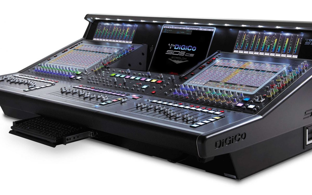 DiGiCo Announces Future Release Of Stealth Core2 For Complete SD Range And A New SD5cs System