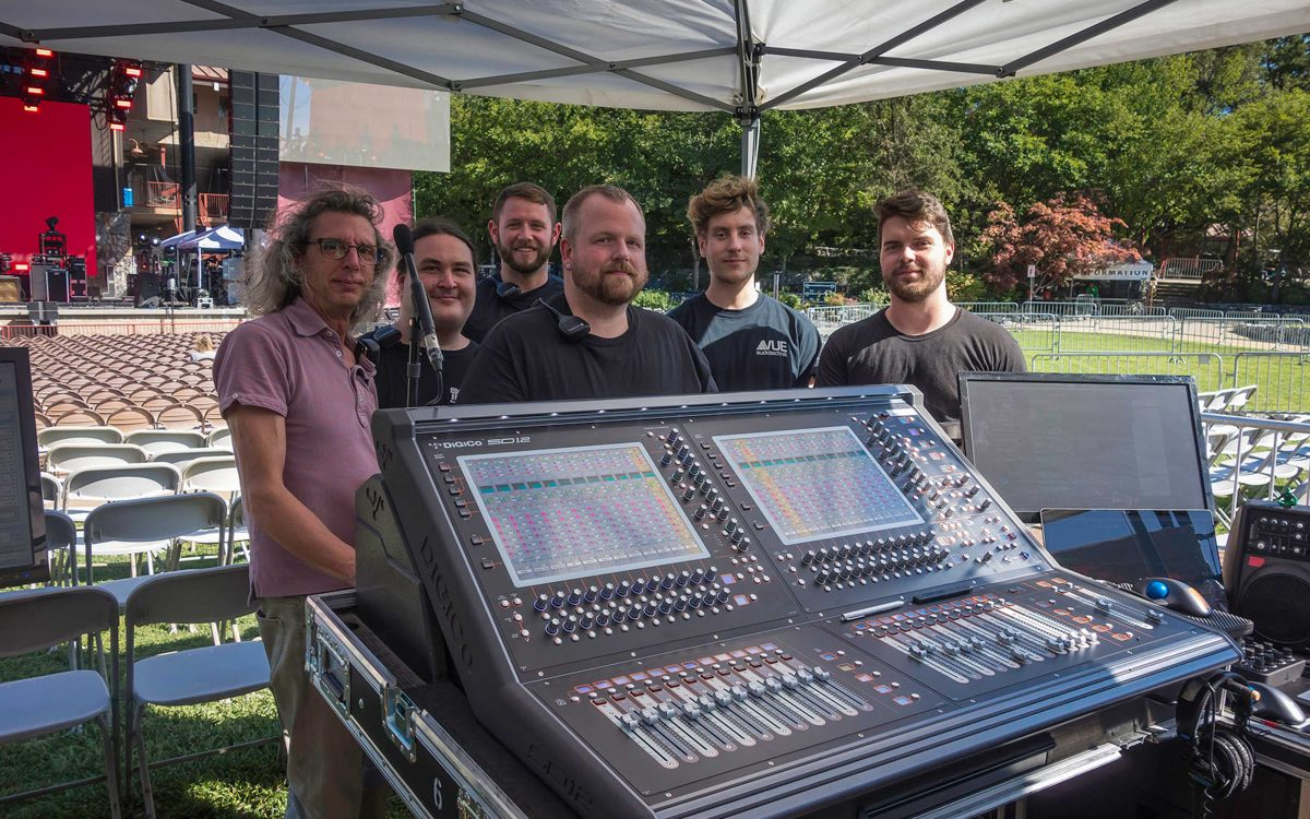Stone Temple Pilots Travel First Class With DiGiCo's SD12