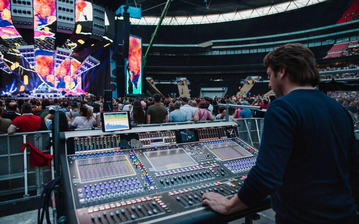 DiGiCo SD7 Unites The Sounds Of Ed Sheeran's Tour