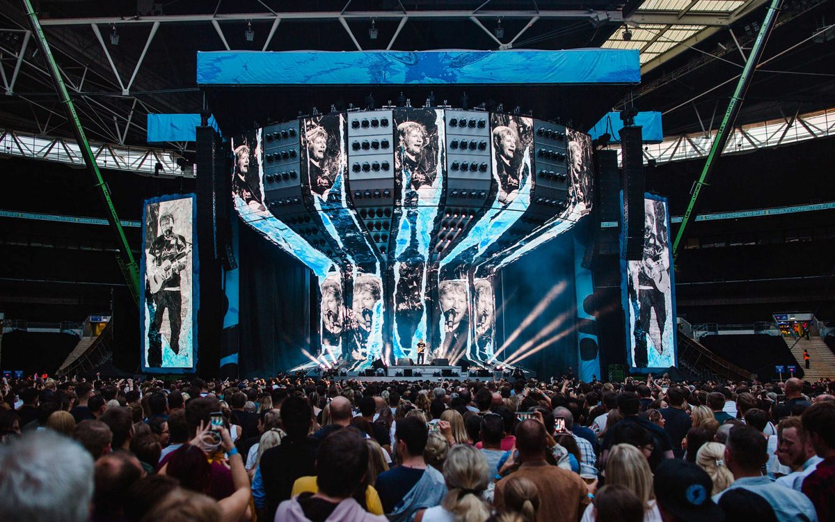 DiGiCo SD7 Unites The Sounds Of Ed Sheeran's Tour