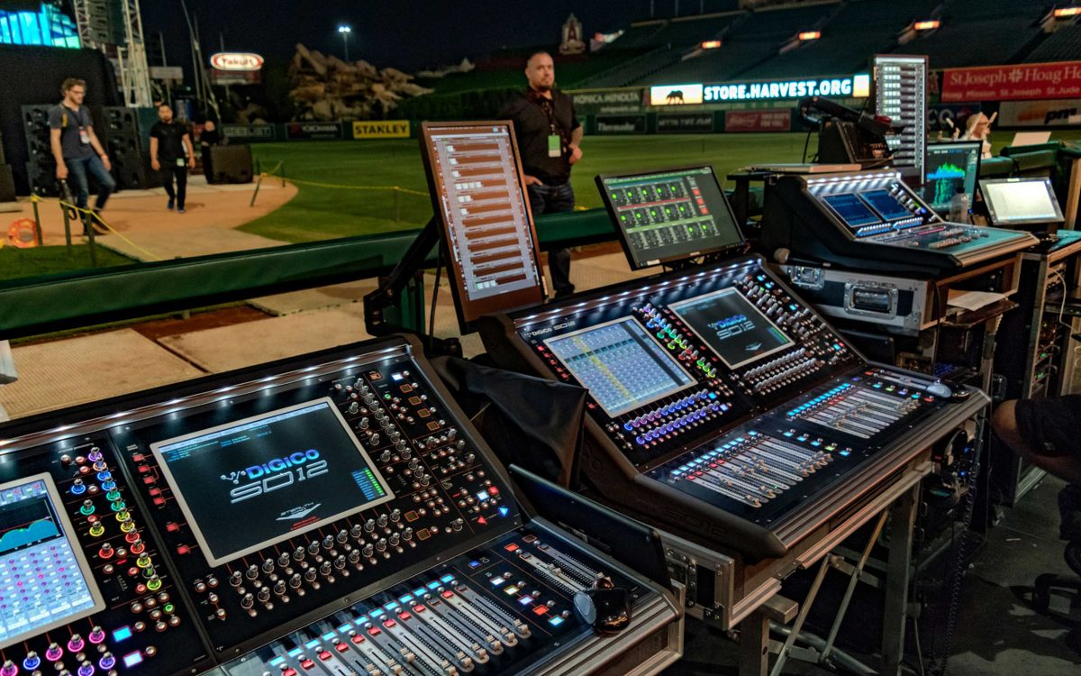 Six New SD12s Join The DiGiCo Range At Spectrum Sound