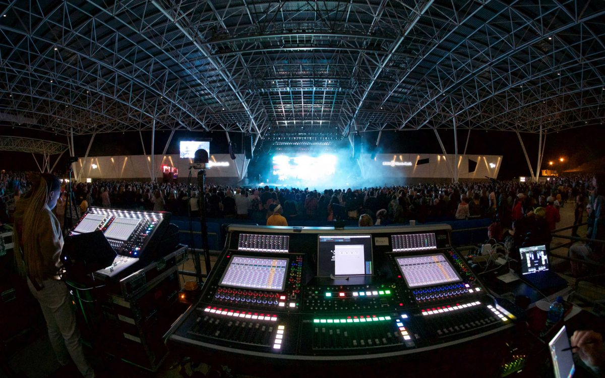 Summerfest's 50th Festival Goes 100 Percent DiGiCo