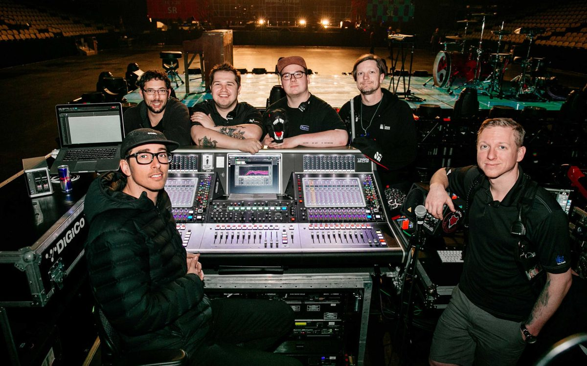 Twenty One Pilots Plus Three DiGiCo SD Consoles = One Duo With Amazing Tour Sound